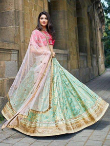 New Designer Embroidery Work Lehenga Choli