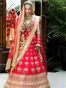 Wedding Wear Tapeta Silk Lehenga Choli