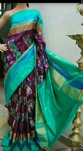 Trendy Multi Color Designer Saree