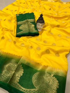 New Launch Celebration Tussar Silk Saree With Peacock Butta K24