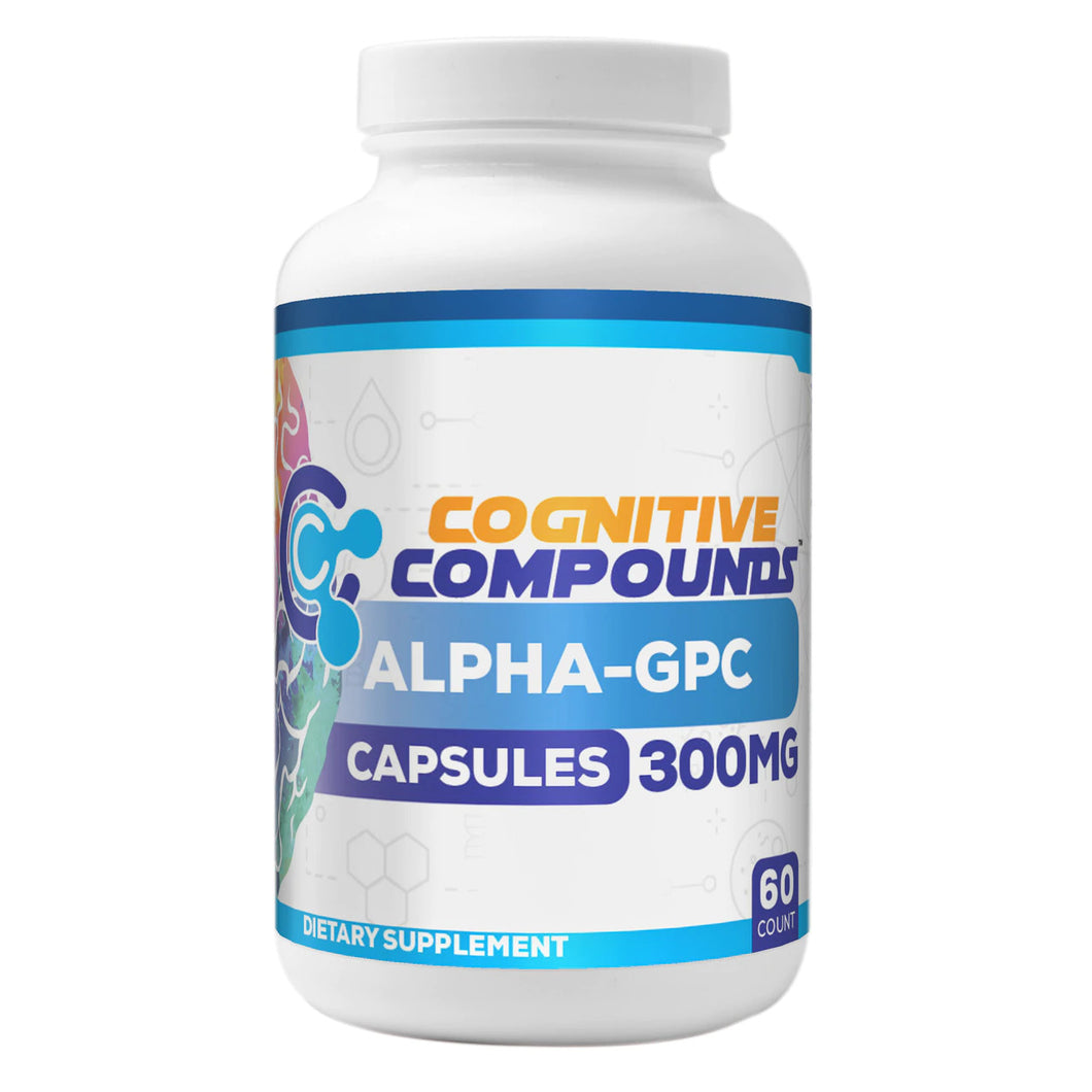 HR Supplements 알파-GPC 300mg, 60개입