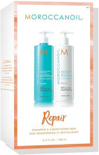 Lade das Bild in den Galerie-Viewer, Moroccanoil Moisture repair Shampoo 500ml Conditioner 500ml