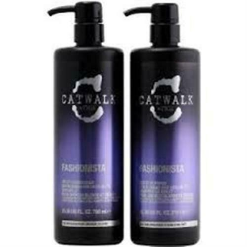 TIGI Catwalk  Fashionista shampoo 750 ml & Conditioner 750 ml mit Pumpe