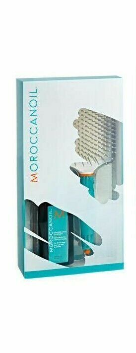 Moroccanoil Promotion Sets 100 ml mit Paddle Bürste XL