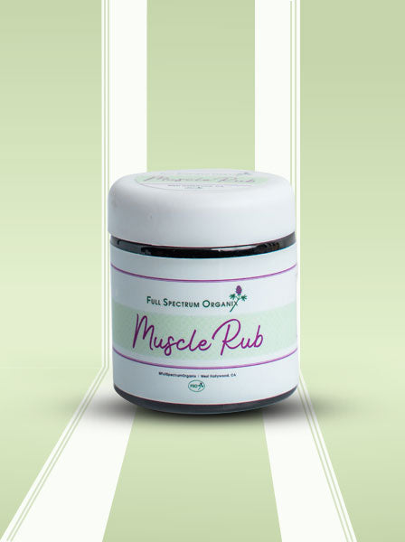 Muscle Rub - Pain Relief