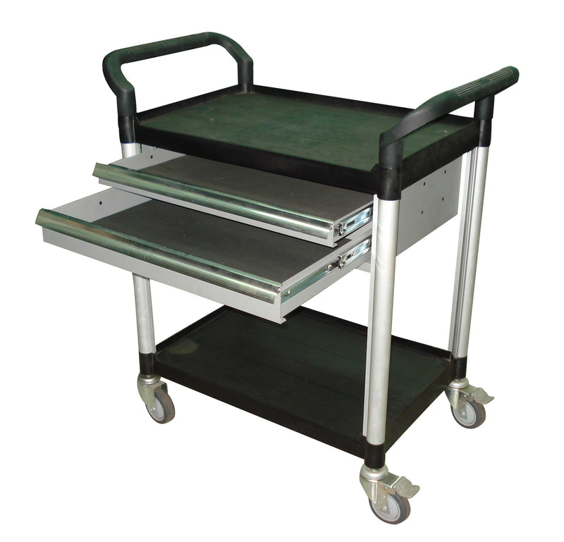 MULTI PURPOSE TROLLEY DOUBLE DRAWER OPTION
