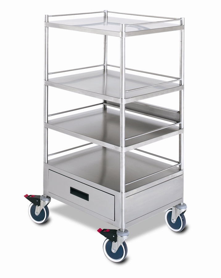 MONITOR SUPPORT TROLLEY