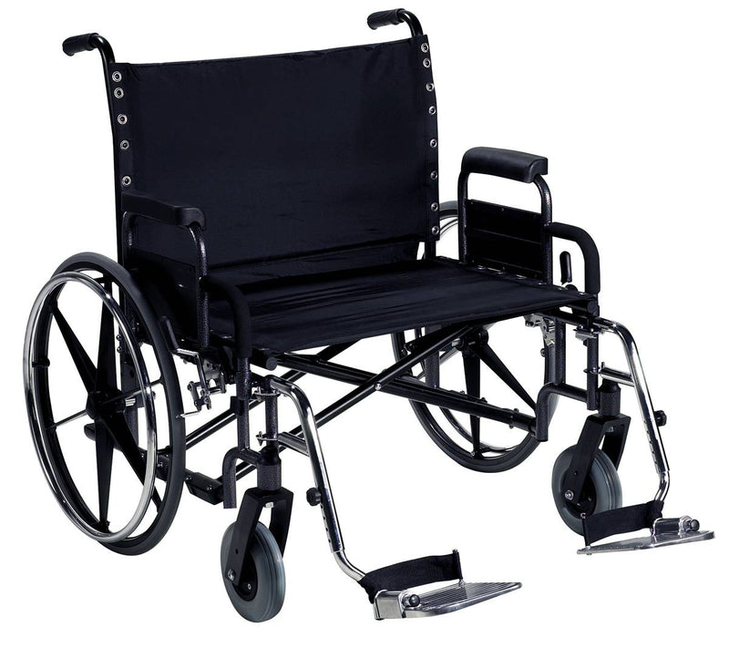 BREEZY HEAVY DUTY EXTRA WIDE WHEELCHAIR