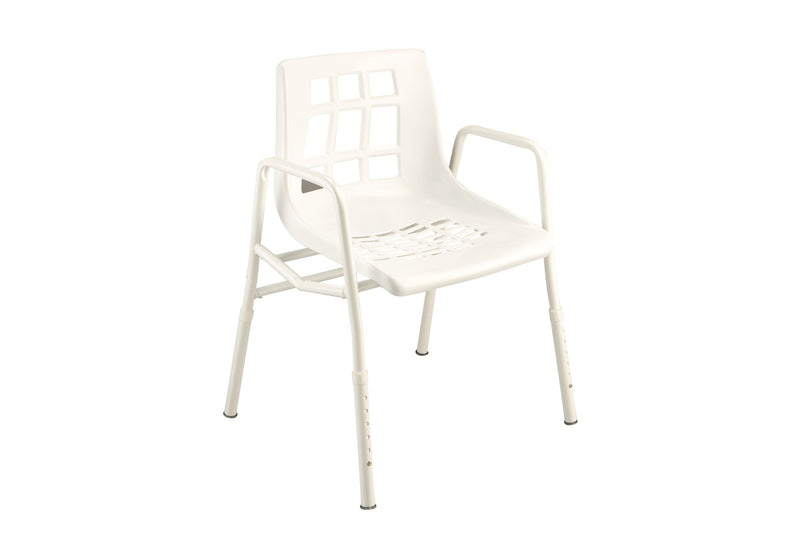 SHOWER CHAIR EXTRA WIDE 135KG