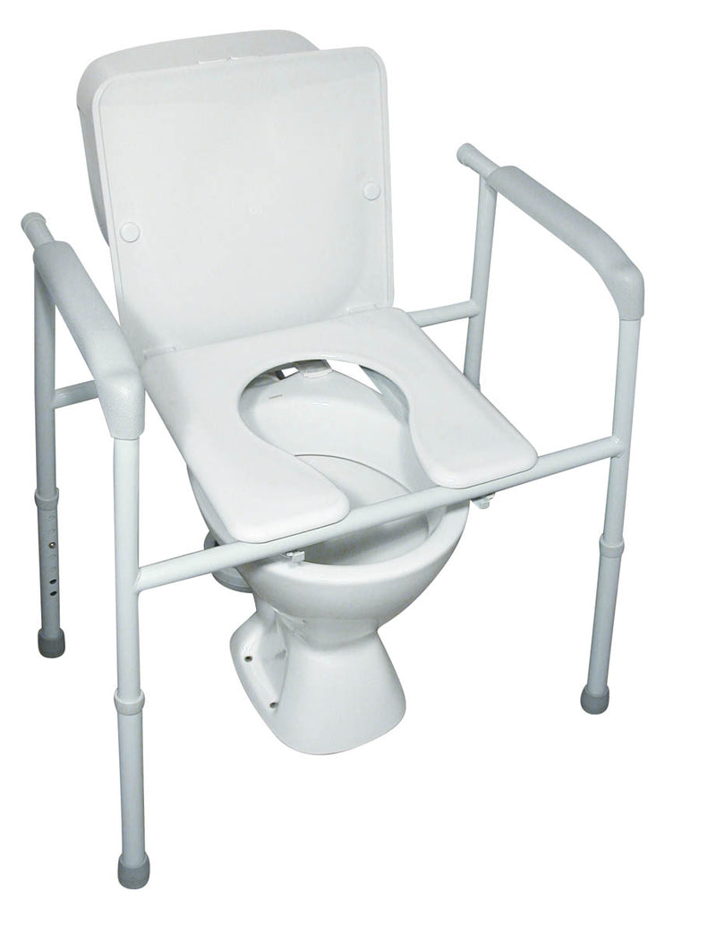 OVERTOILET COMMODE 3 IN 1 BARIATRIC