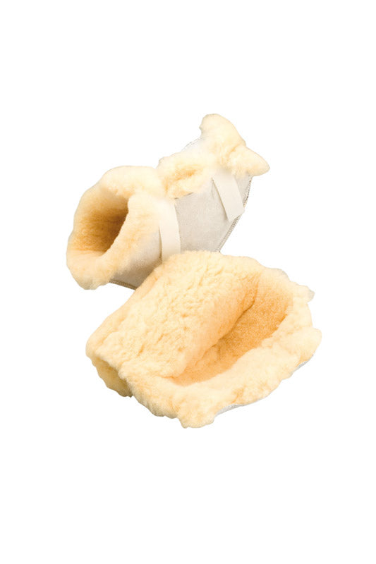 SHEEPSKIN HEEL AND ELBOW PROTECTOR