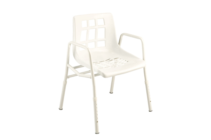 SHOWER CHAIR EXTRA WIDE 200KG