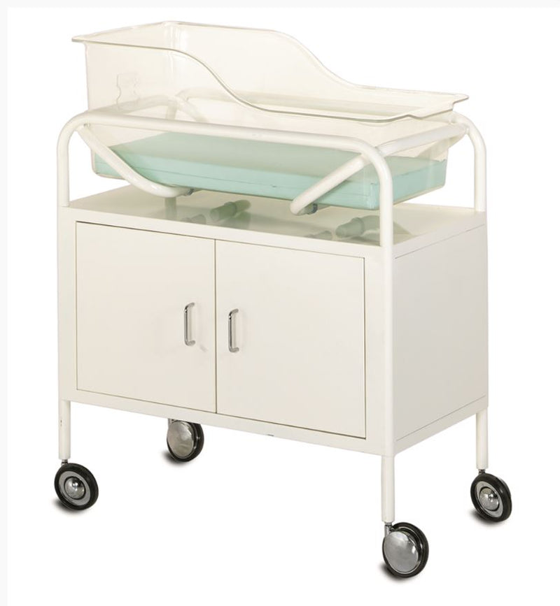 BASSINET TROLLEY-CABINET