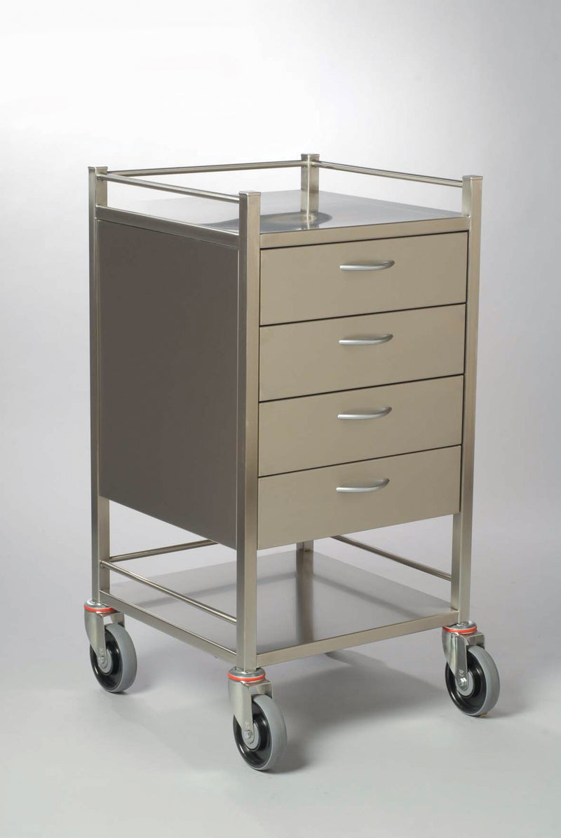 DRESSING TROLLEY-FOUR DRAWER