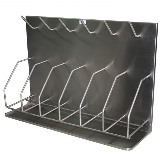 PAN AND BOTTLE RACK