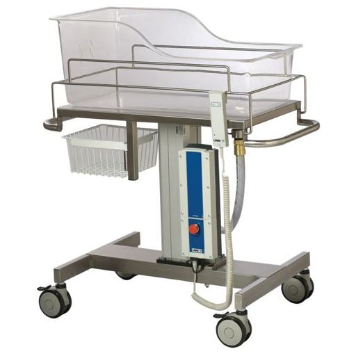 SINGLE BASSINET TROLLEY-ELECTRICALLY ADJUSTABLE