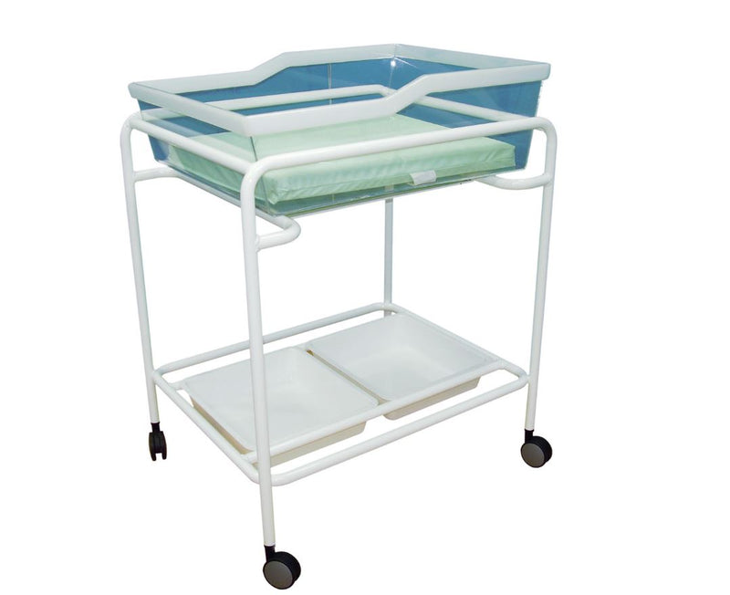 TWIN BASSINET TROLLEY