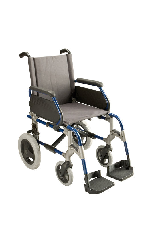 BREEZY ULTRALIGHT TRANSIT WHEELCHAIR