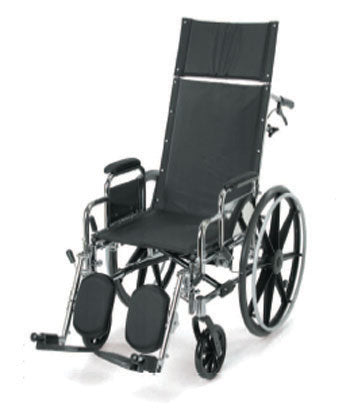 BREEZY RECLINING WHEELCHAIR