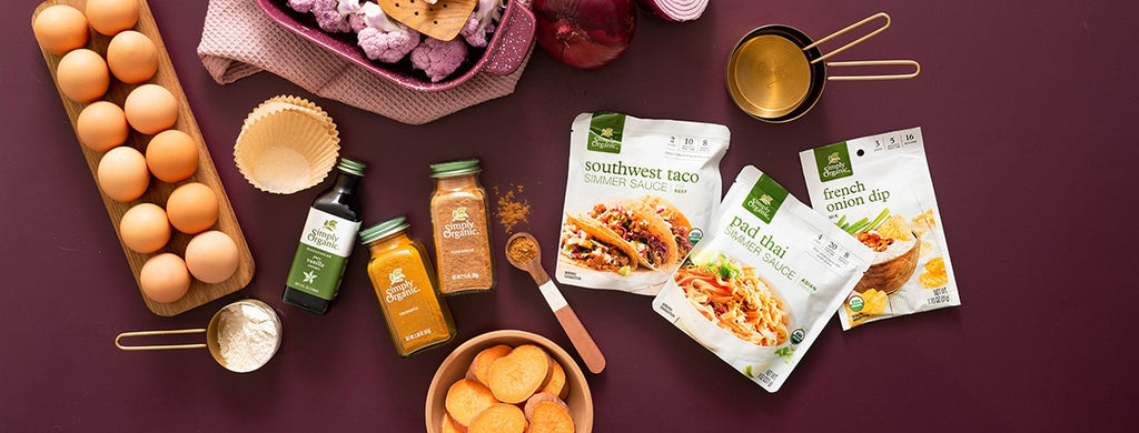 Who We Are At Simply Organic, we're raising the stakes with spices and herbs that pack a REAL punch of POW into every bite. In a sea of fake, we make it easy to find Certified Organic ingredients with the flavor intensity to take dinner to the next level.