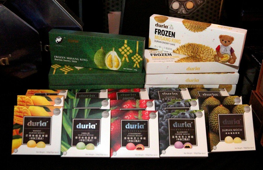 Durian, different products healthypig, a very nutritious durian