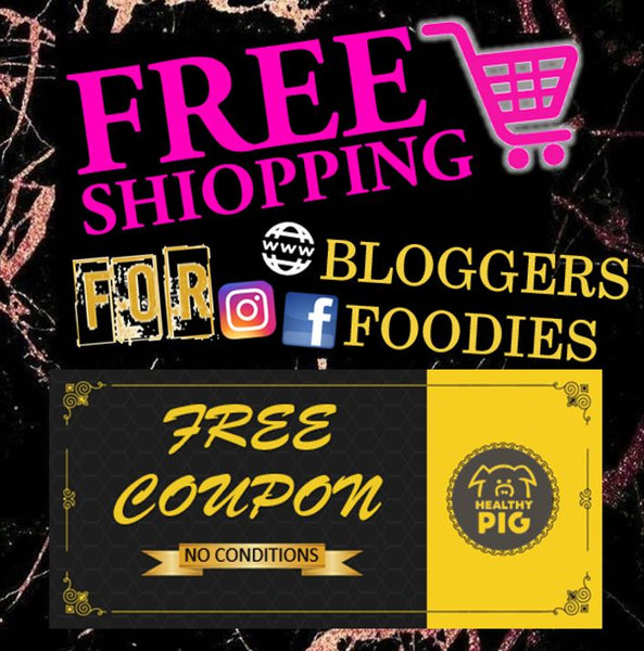 free shopping experience healthypig bloggers foodies