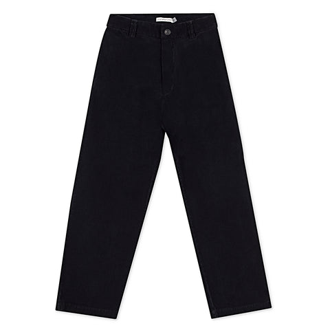 Corduroy Pants - Black Indigo