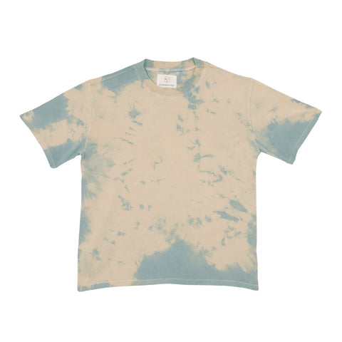Tee - Powder Blue Tie Dye