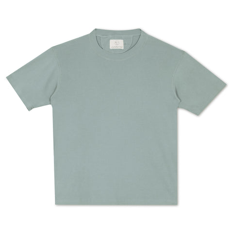 OB Rib Tee - Powder Blue