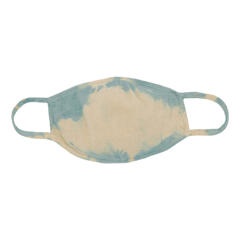 Powder Blue Tie Dye Mask - 2 Pack