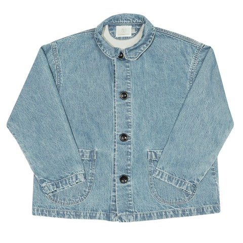 Chore Coat - Washed Indigo