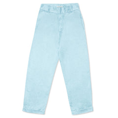 Silk Hemp Trousers - Sky Indigo