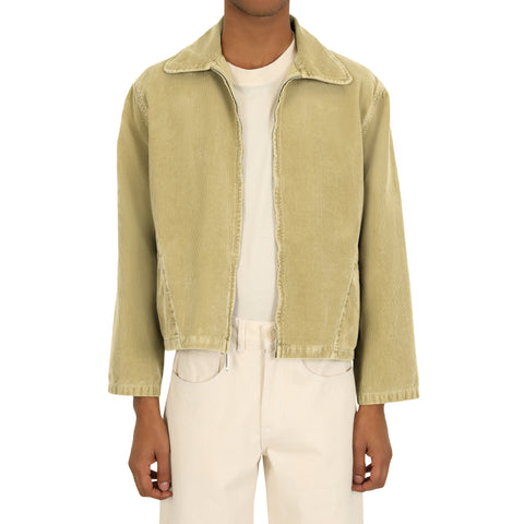 Zip Jacket - Algae Green