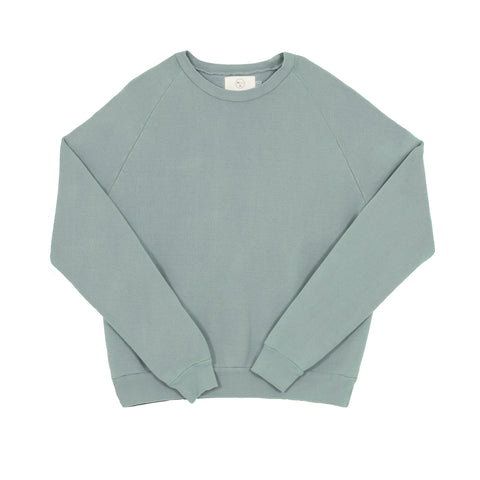 Raglan Crew - Powder Blue