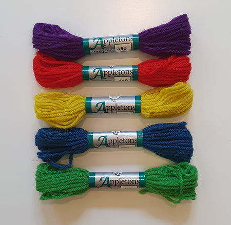 Dovecot Studios | Appletons Tapestry Wool Set of 5: Rainbow