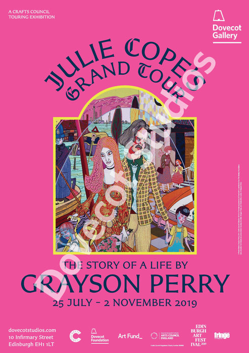 Exhibition Poster: Grayson Perry PINK