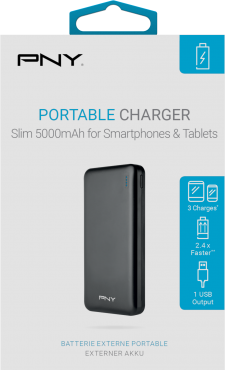 PNY Powerbank Slim 5000 Black
