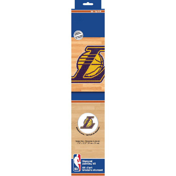 DIAMOND DOTZ® Los Angeles Lakers Diamond Painting Kit