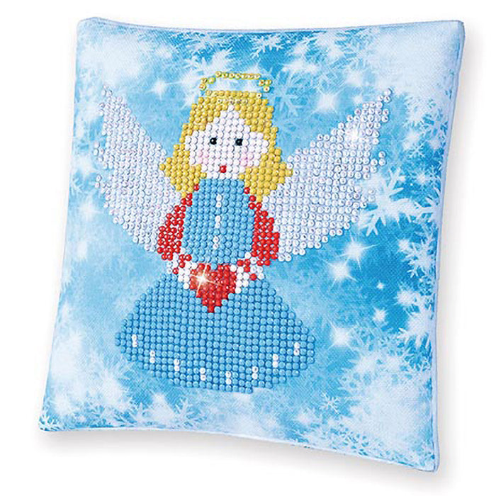 DIAMOND DOTZ® Beginner - Christmas Angel Pillow