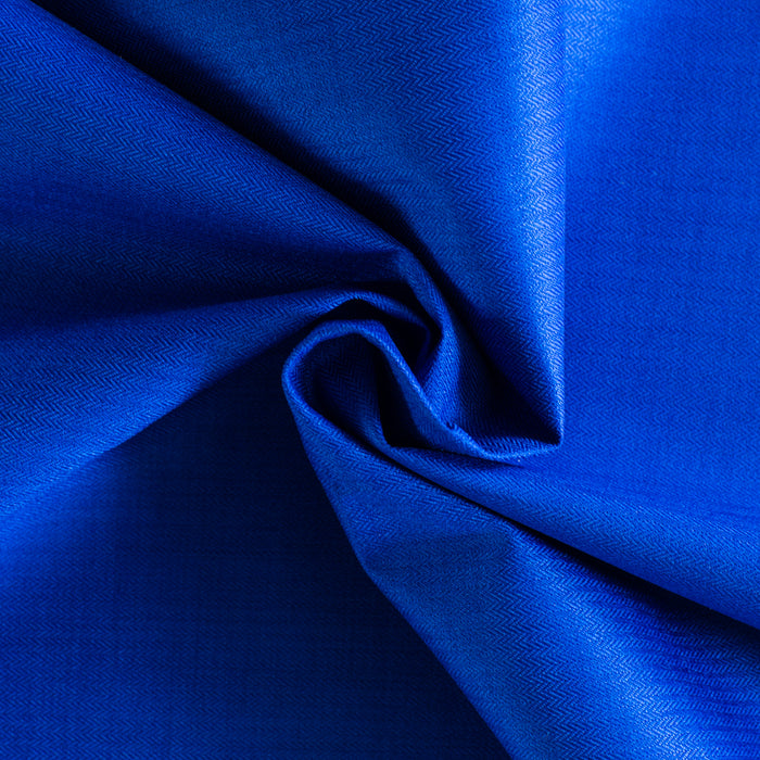 DERMOFLEX nylon for sports coat - Herringbone - Royal