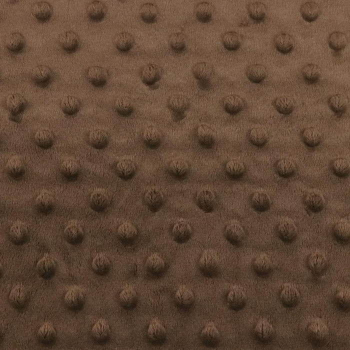 Dimple Micro Chenille - Chocolate brown