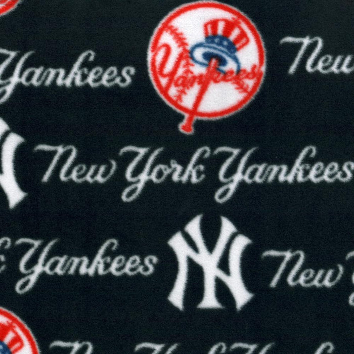 New York Yankees - Baseball Anti-pill Fleece Prints - Navy