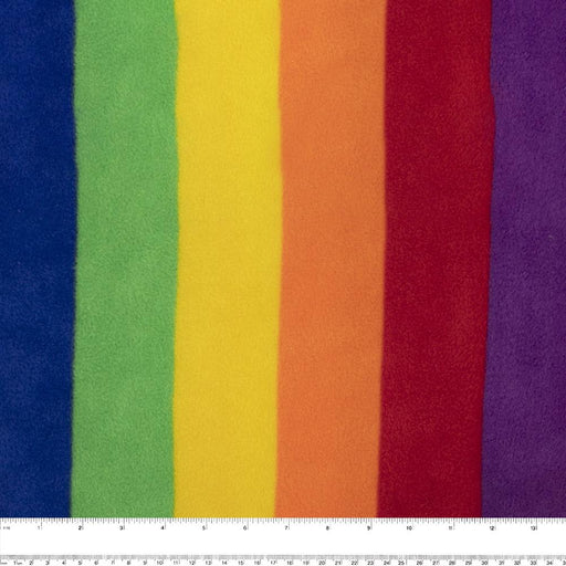 PRIDE Anti Pill Rainbow Fleece - Purple