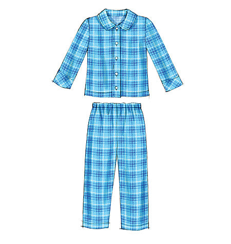 M6458 Toddlers'/Children's Tops and Pants (size: 4-5-6)