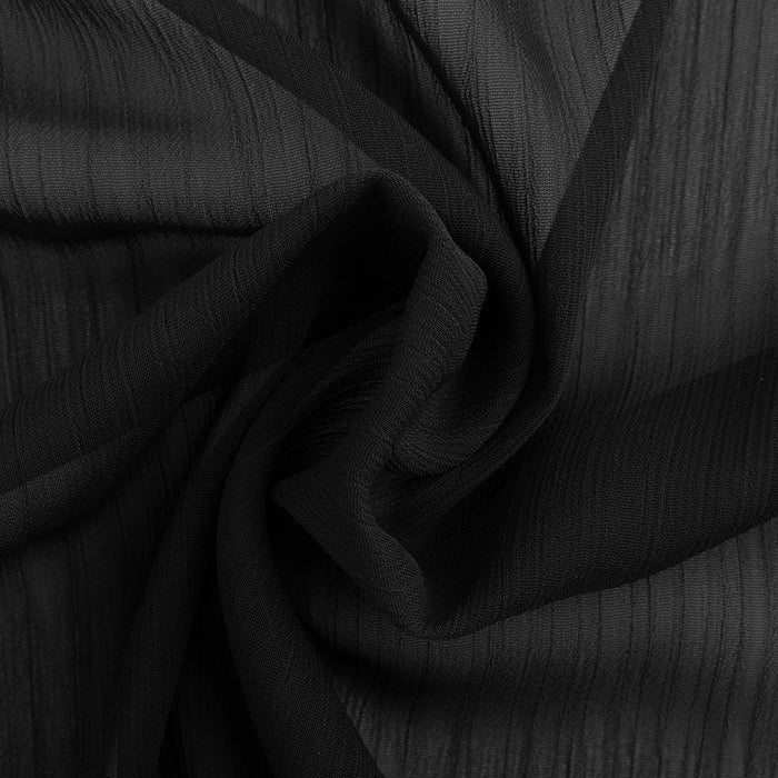 Assorted Polyester Solid - Charcaol