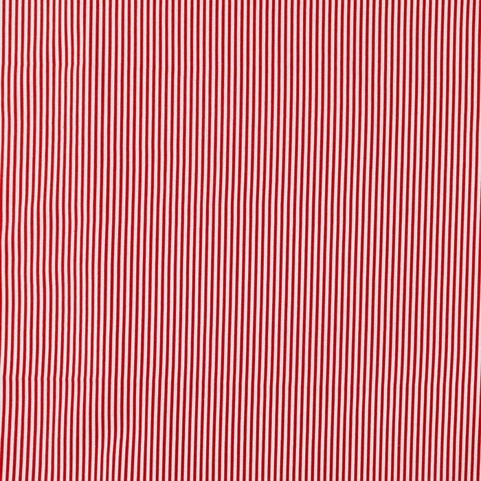 Just Basic - Fine Stripes - Red