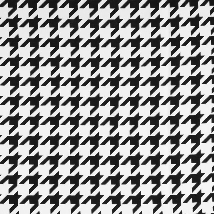 SERENADE - Softskin Coordinating print - Houndstooth large - Black / White