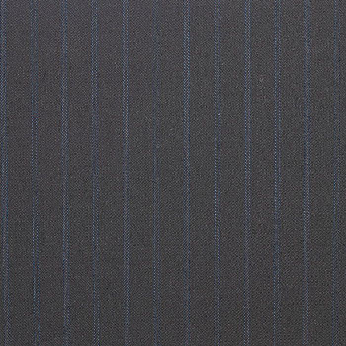 HUGO Light Weight Wool Suiting - Stripes - Navy