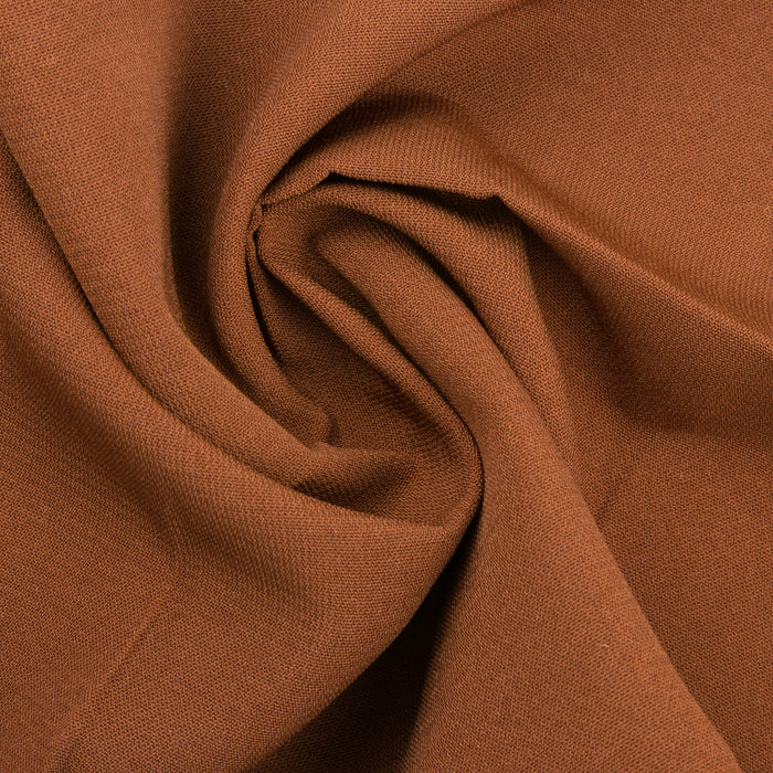 Feline polyester - Solid - Brown
