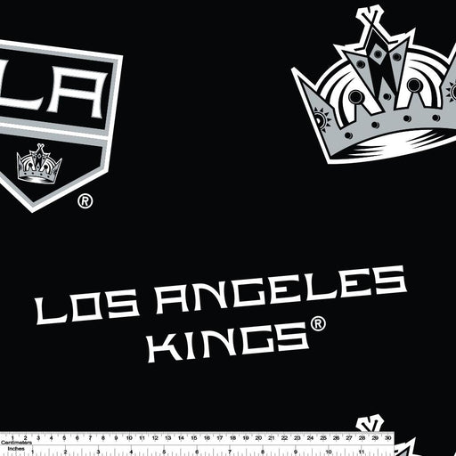 Los Angeles Kings - NHL Fleece Print - Logo